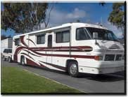 custom rv stripes and graphics, motorhome striping and graphics, trailer striping and graphics, and rv decals