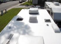 RV Roofing Rear View After